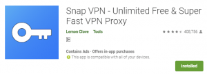Snap VPN Download for PC