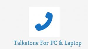 Talkatone PC Version Download