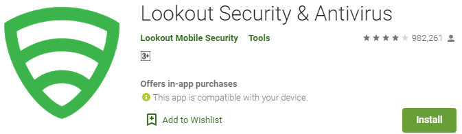 Lookout Security and Antivirus for PC