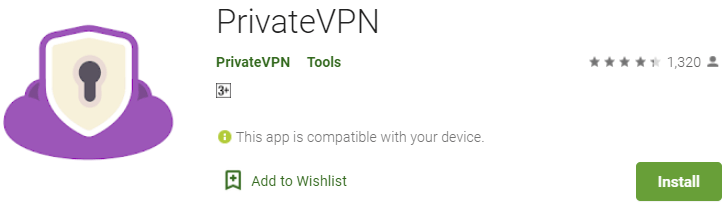 PrivateVPN on PC