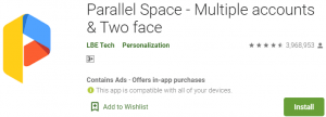 Parallel Space For PC Download