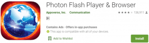 Photon Flash Player Browser For PC Download