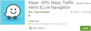 Waze app for PC