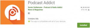 Podcast Addict For PC Download