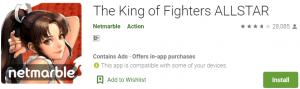 The King of Fighters ALLSTAR For PC Download