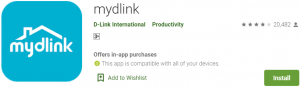 mydlink app for Windows 10 & Mac