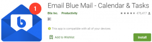 Blue Mail For PC Download