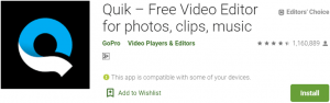 Quik For PC Download