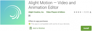Alight Motion for PC Download