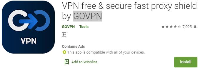 GOVPN for PC