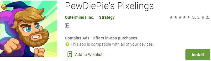 PewDiePie's Pixelings for PC