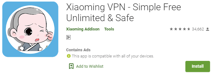 Xiaoming VPN for PC