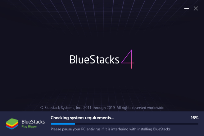 BlueStacks on Windows