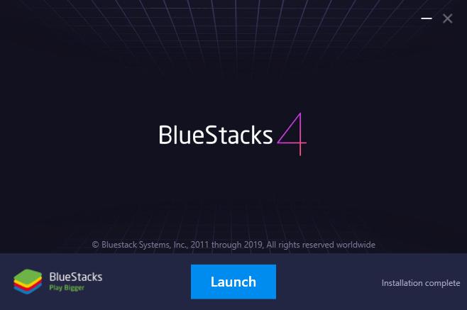 BlueStacks on Windows