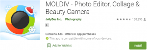 MOLDIV app for PC
