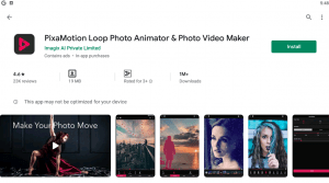 PixaMotion Loop for PC