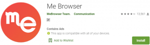 Me Browser for PC Download