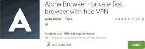 Aloha Browser for PC Download