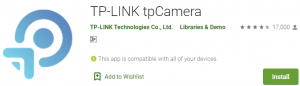 TP-LINK tpCamera for PC Download