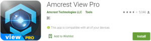 Amcrest View Pro PC version