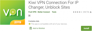Kiwi VPN for PC Download