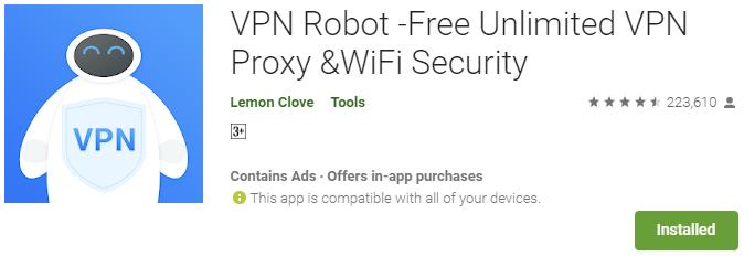 VPN Robot for PC