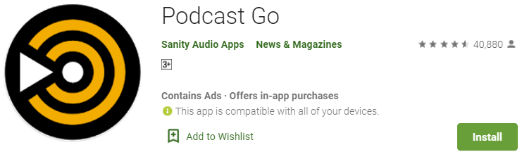 Podcast Go for PC