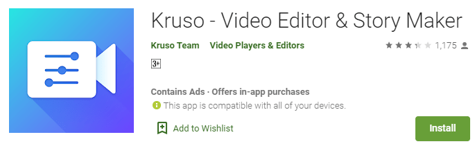 Kruso Video Editor for PC