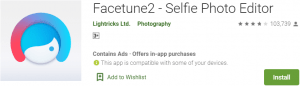 Facetune for PC Download