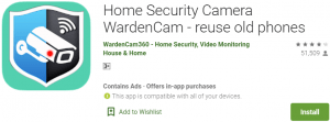 WardenCam for PC Download