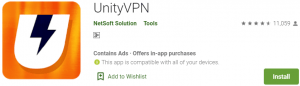 UnityVPN for PC Download