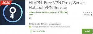 Hi VPN for PC Download