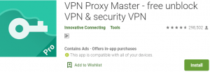 VPN Proxy Master for PC Download