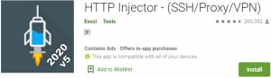 HTTP Injector for PC Download