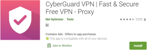 CyberGuard VPN for PC Download