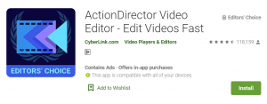 ActionDirector For PC