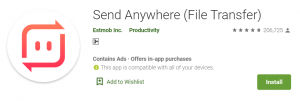 Send Anywhere For PC