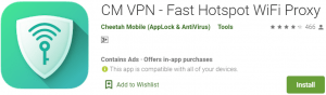 CM VPN for PC Download