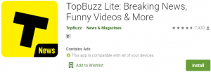 TopBuzz for PC Download