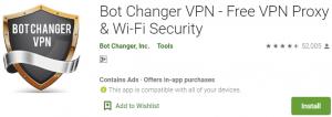 Bot Changer VPN for PC Download