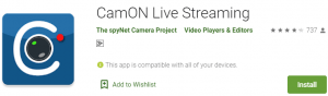 CamON Live Streaming for PC Download