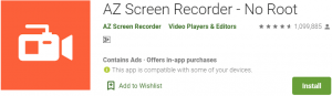AZ Screen Recorder for PC Download