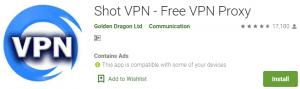 Shot VPN for PC Download