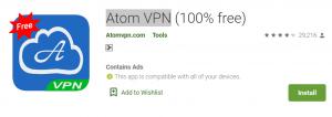 Atom VPN For PC