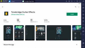 Tonebridge Guitar Effects for Windows PC