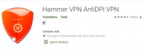 Hammer VPN For PC