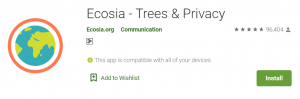 Ecosia Browser For PC