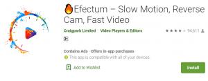 Efectum For PC