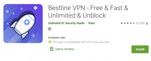 Bestline VPN For PC