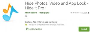 Hide it Pro for PC Download